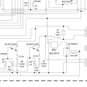 Electrical Engineering Circuit Diagram