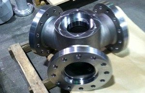 Tri-Lobe Turbine Blade Support Hub in Making