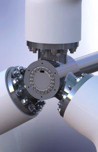 Tri-Lobe Turbine Blade Support Hub