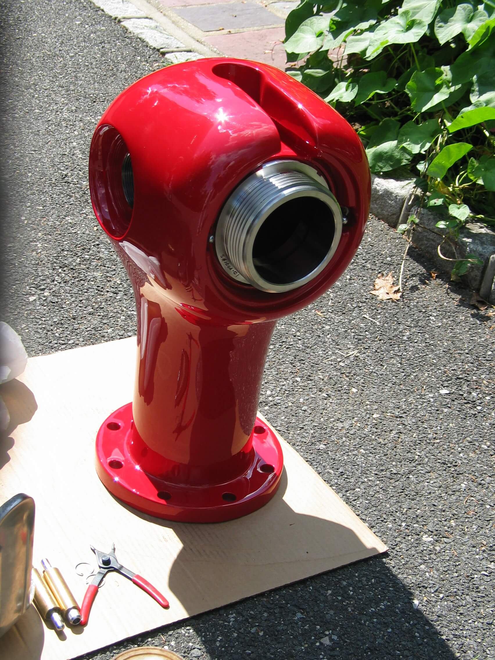 Closeup of hydrant