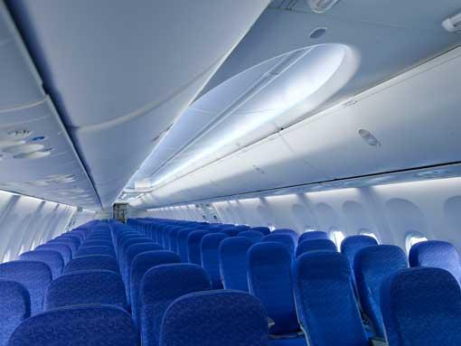 Boeing 737-800 Sky Interior