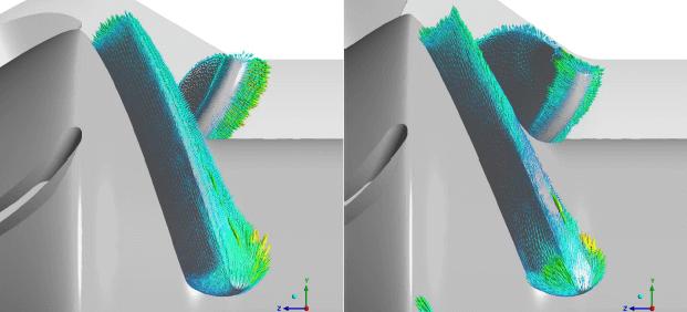 CFD Pump Blade Analysis