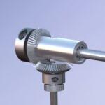 Dispenser mechanism bevel mesh
