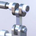 Dispenser mechanism crank shaft