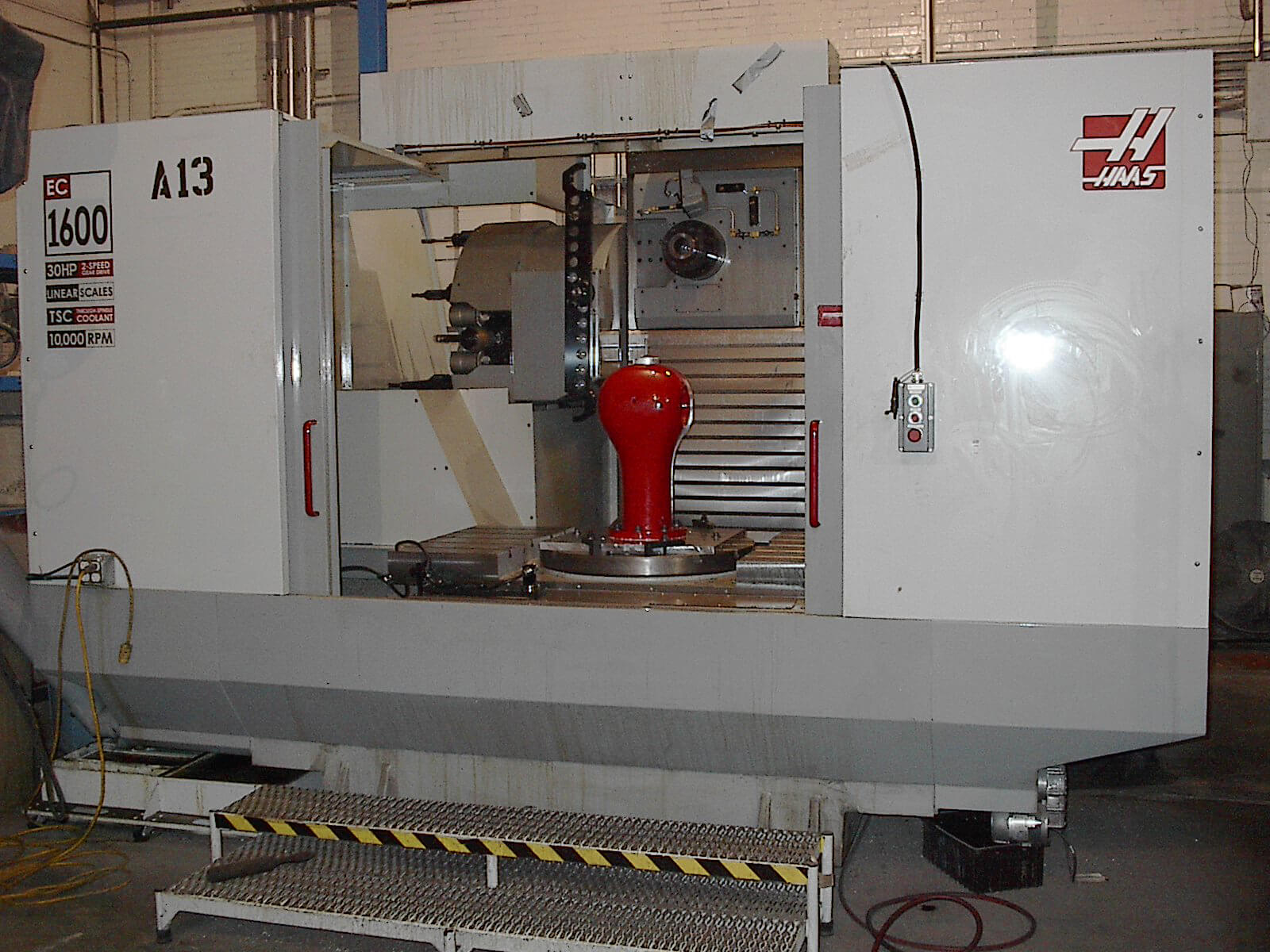 Fire hydrant in machining center