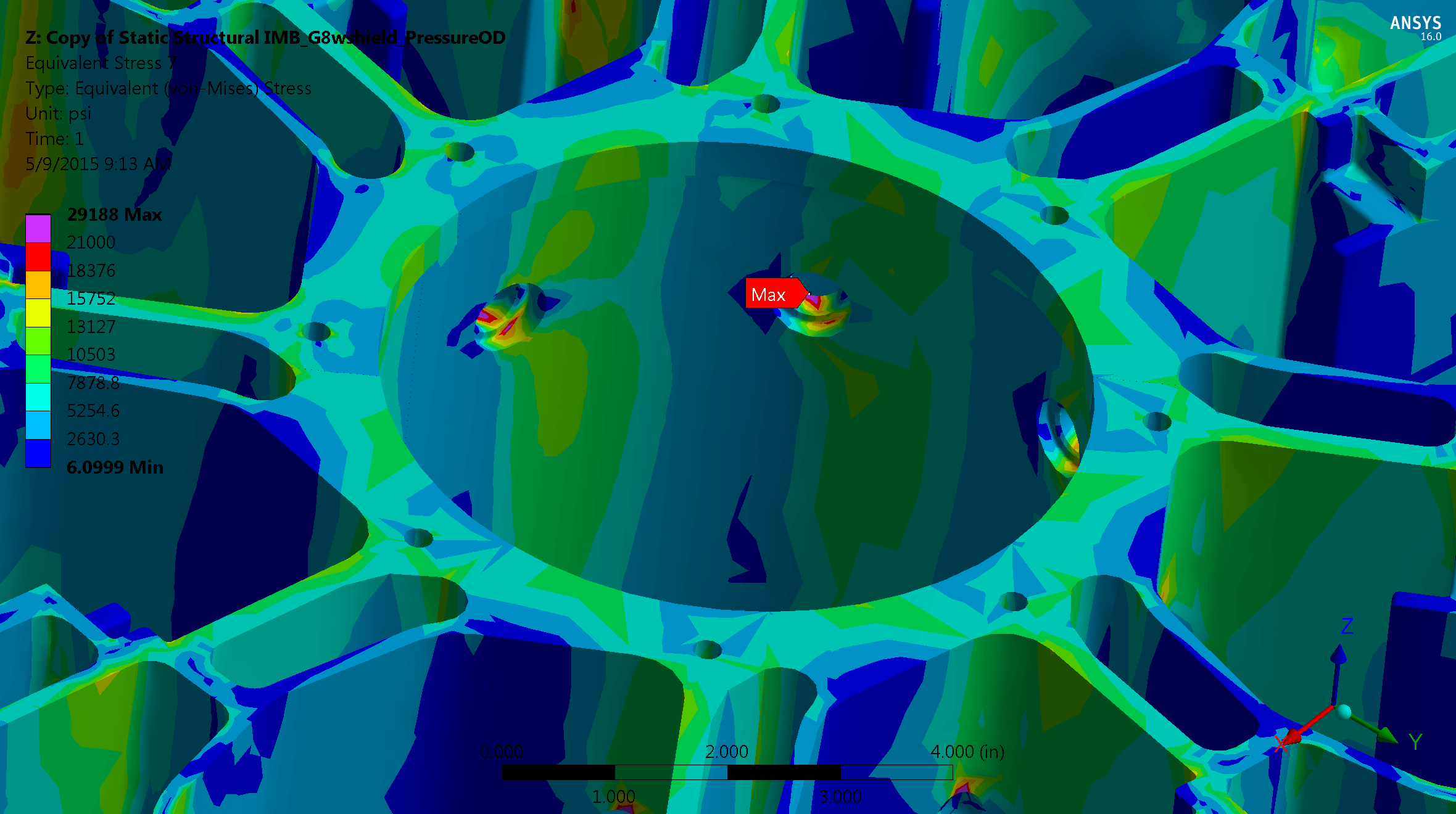 Centrifuge FEA Structural Analysis