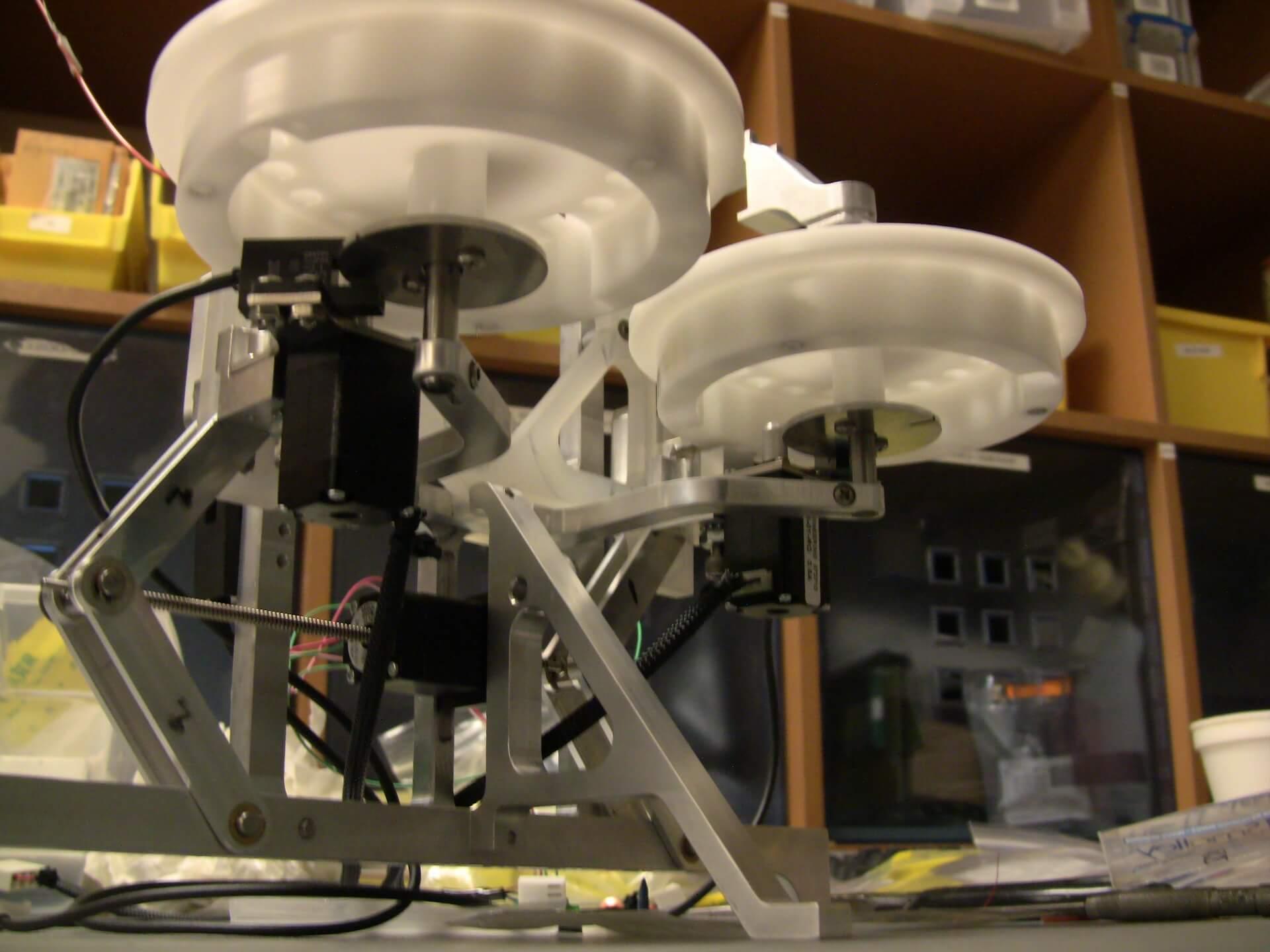 DNA Analysis machine prototype