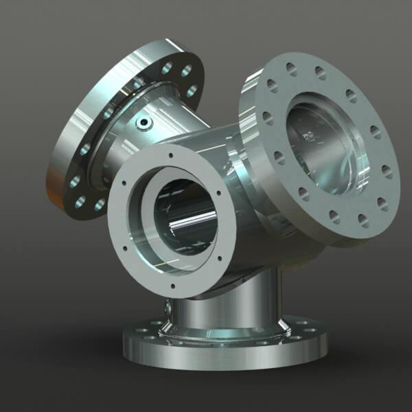 Rotor hub CAD model