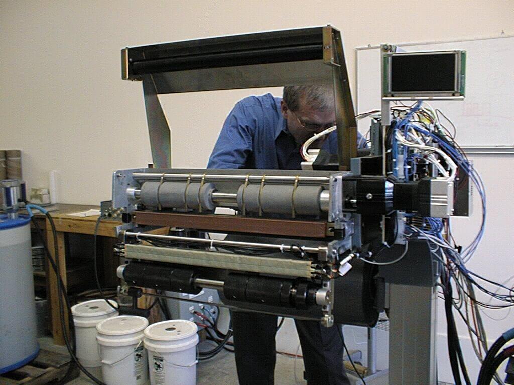 packaging machine prototype
