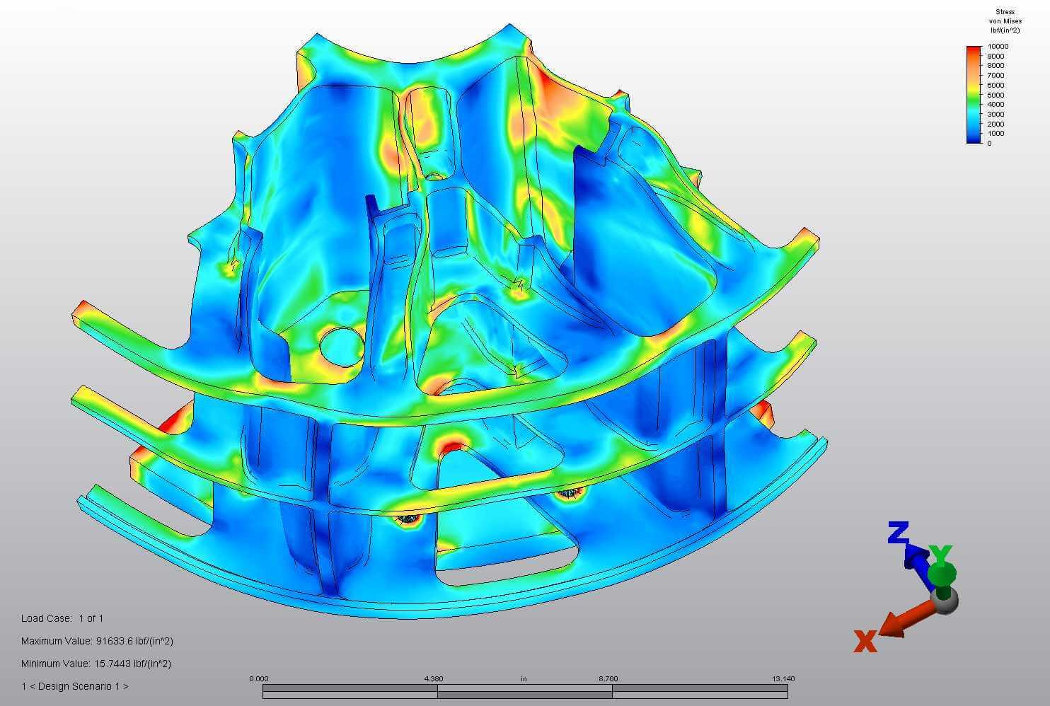 Centrifuge Rotor CAD Model