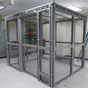 Ballistic Enclosure for Centrifuge