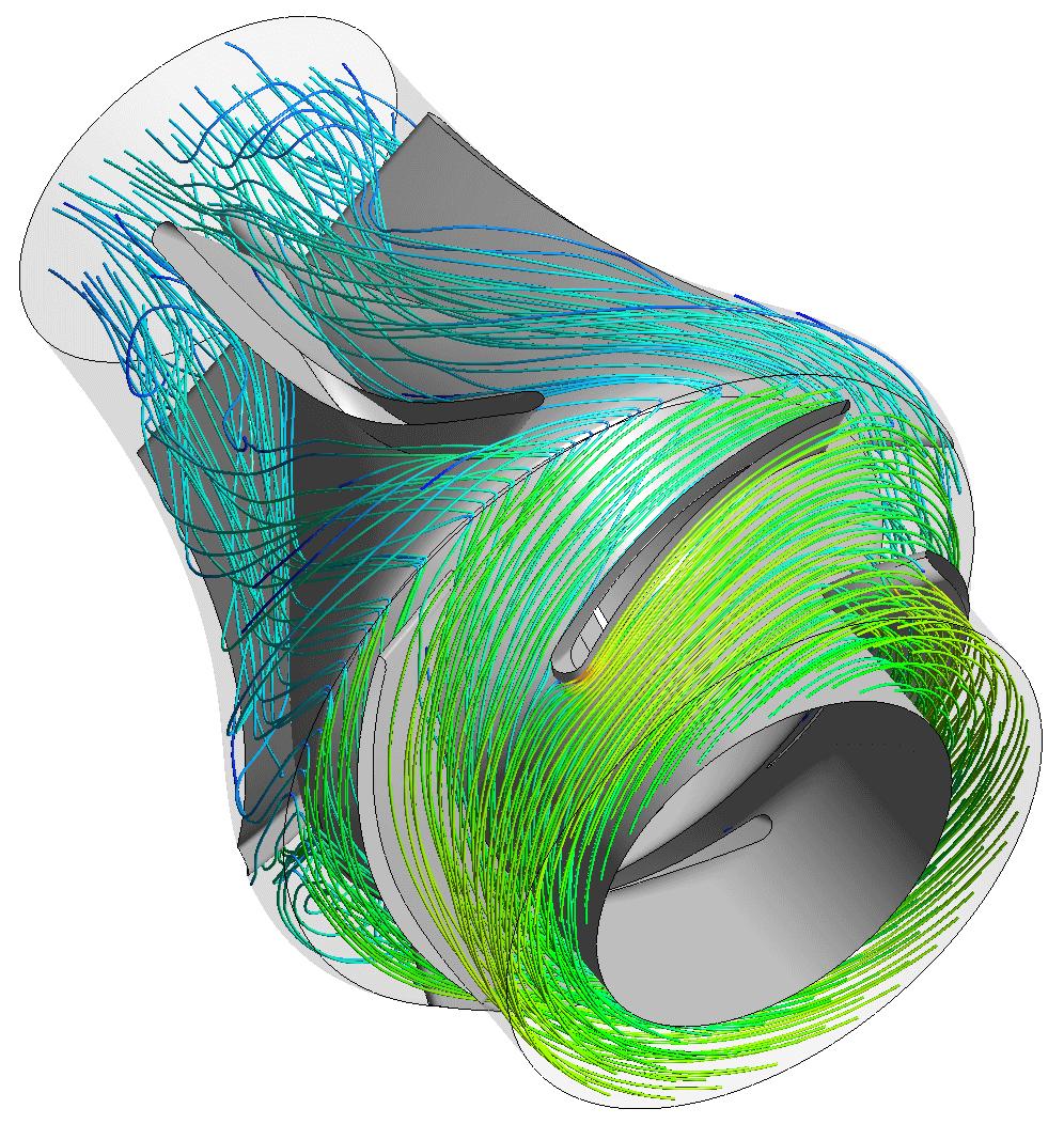 CFD pump analysis