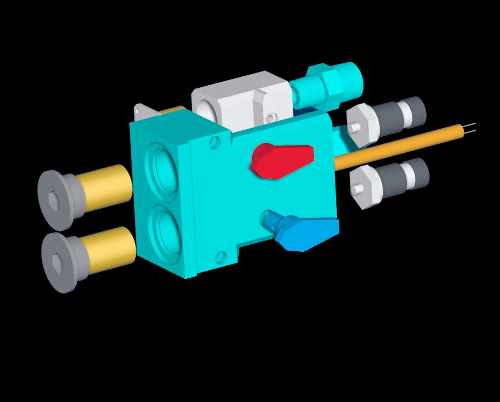 Foam Dispenser Manifold